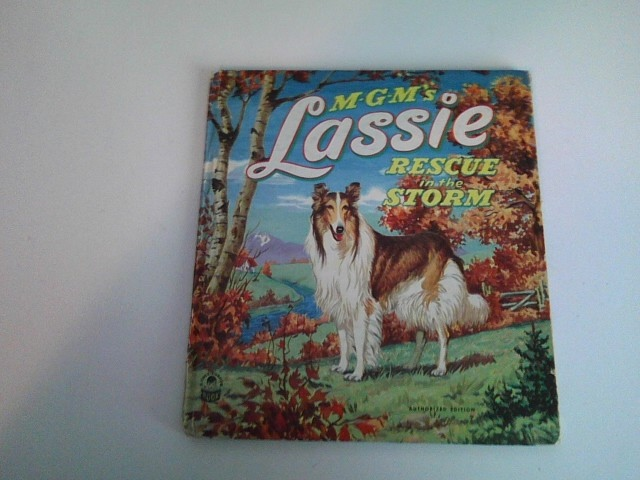 Image for M-G-M'S  LASSIE: RESCUE IN THE STORM