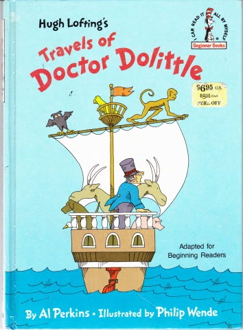 Image for HUGH LOFTING'S TRAVELS OF DOCTOR DOLITTLE Adapted for Beginning Readers