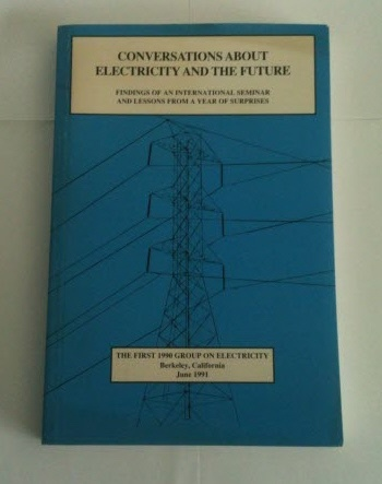 Image for Conversations about Electricity and the Future Findings of an International Seminar and Lessons from a Year of Surprises