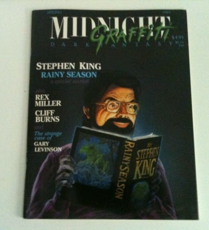 Image for Midnight Grafitti: including Rainy Season by Stephen King, Sweet Pea by Rex Miller, Cattletruck by Cliff Burns along with a last interview of Ted Sturgeon by Paul Sammon and more
