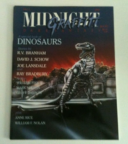 Image for Midnight Grafitti: including Kamikaze Butterflies by David J. Schow, Dinosaur Plies by R. V. Branham, Bob the Dinosaur Goes to Disneyland by Joe R. Landsdale, and all sorts of dinosaurs