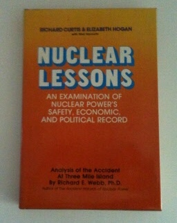 Image for Nuclear Lessons An Examination of Nuclear Power's Safety, Economic, and Political Record: Analysis of the Accident at Three Mile Island by Richard E. Webb, Ph.D.