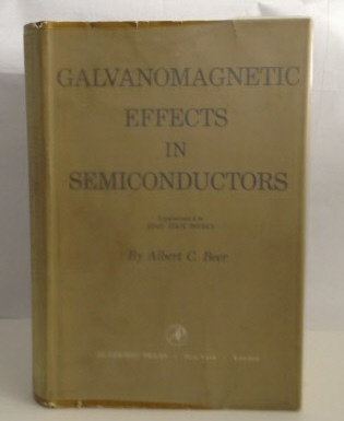 Image for Galvanomagnetic Effects in Semiconductors: Supplement 4 to Solid State Physics