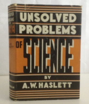 Image for Unsolved Problems of Science