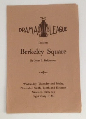 Image for The Drama League (Milwaukee) Berkeley Square