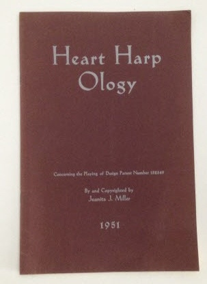 Image for Heart Harp Ology Concerning the Playing of Design Patent Number 152349