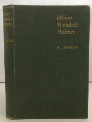 Image for Oliver Wendell Holmes  An Appreciation