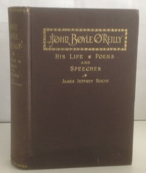 Image for John Boyle O'Reilly His Life, Poems and Speeches