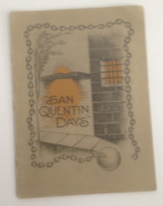 Image for San Quentin Days (poems of a prison)