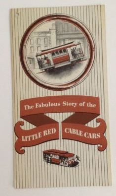 Image for The Fabulous Story of the Little Red Cable Cars