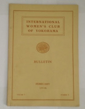 Image for International Women's Club of Yokohama Bulletin