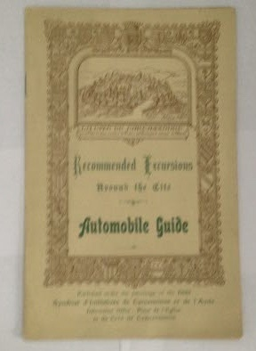 Image for Recommended Excursions Around the Cite: Automobile Guide