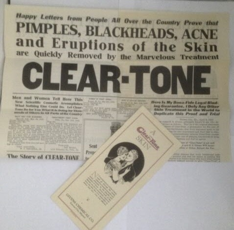 Image for [ephemera] [advertising] [tonics] [Clear-Tone]