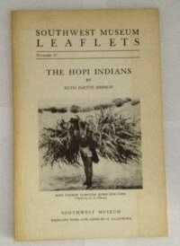 Image for Southwest Museum Leaflets  Number 25: The Hopi Indians