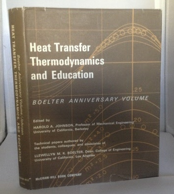 Image for Heat Transfer Thermodynamics and Education Boelter Anniversary Volume