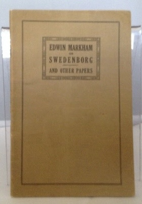 Image for Edwin Markham On Swedenborg And Other Papers