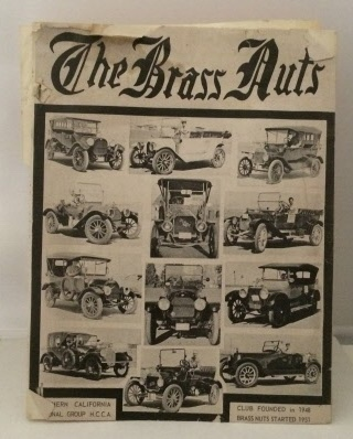 Image for The Brass Nuts: August 1962 (vol. 12 Number 8)  Published by the Northern California Regional Group of the Horseless Carriage Club of America
