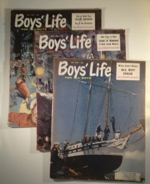 Image for Tenderfoot In Space 3 Parts in Boy's Life Magazine