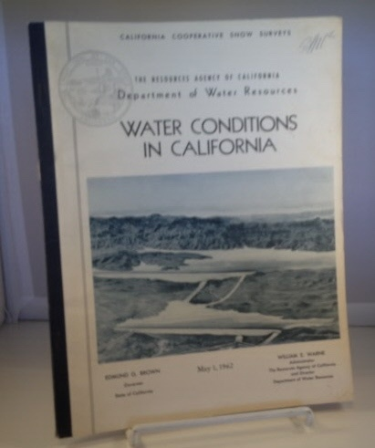 Image for Water Conditions In California California Cooperative Snow Surveys: the Resources Agency of California