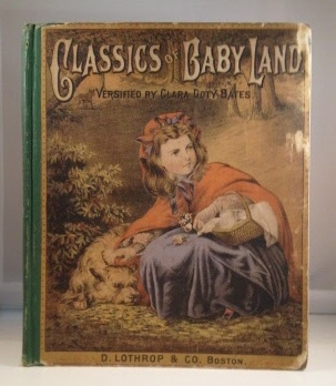 Image for Classics Of Baby-land  (Versified by Mrs. Clara Doty Bates