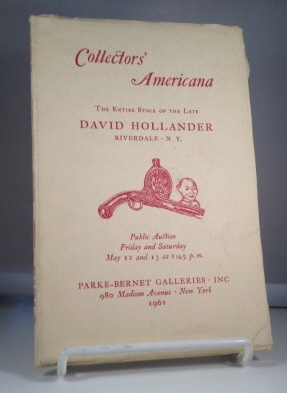 Image for Collectors' Americana: The Entire Stock Of The Late David Hollander (riverdale, Ny)  May 12 and 13, 1961