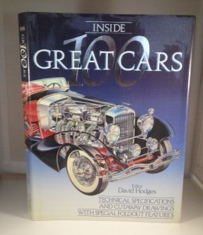 Image for Inside 100 Great Cars Technical Specifications and Cutaway Drawings with Special Foldout Features