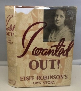 Image for I Wanted Out Elsie Robinson's Own Story