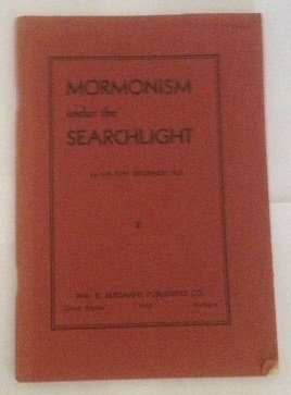 Image for Mormonism Under The Searchlight
