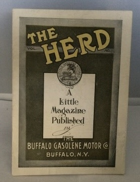 Image for The Herd : A Little Magazine Published By The Buffalo Gasolene Motor Co.