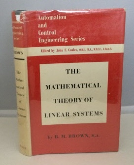 Image for The Mathematical theory of Linear Systems