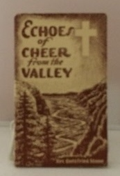 Image for Echoes Of Cheer From The Valley
