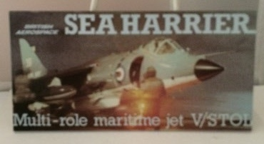 Image for British Aerospace Sea Harrier Multi-role Maritime Jet V/stol