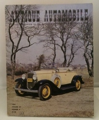 Image for Antique Automobile  (Vol. 27, July-August No.4 1963)