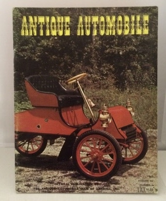 Image for Antique Automobile  (Vol. 26, July-August No.6 1962)