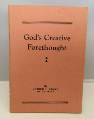 Image for God's Creative Forethought