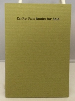 Image for Kat Ran Press Books For Sale
