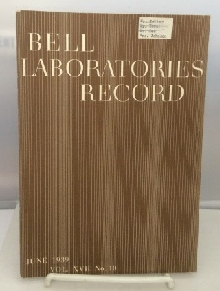 Image for Bell Laboratories Record June 1939 (Volume XVII, No. 10)