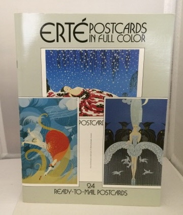 Image for Erte Postcards In Full Color 24 Ready-To-Mail Postcards