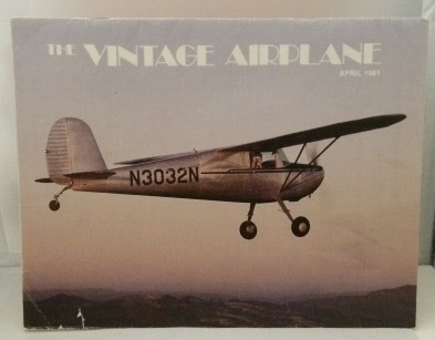 Image for The Vintage Airplane April 1981