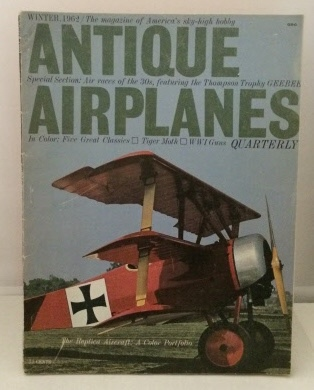 Image for Antique Airplanes Quarterly Winter 1962 (Vol. 1, No. 4)