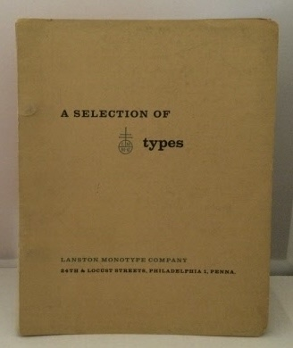 Image for A Selection of Type