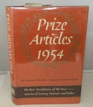 Image for Prize Articles 1954 The Benjamin Franklin Magazine Award Winners