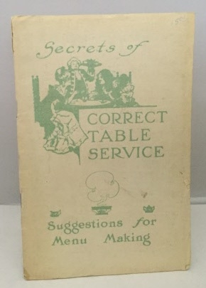 Image for Secrets Of Correct Table Service Suggestions for Menu Making