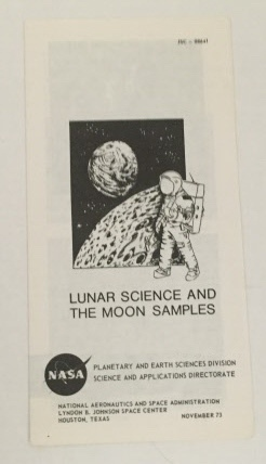 Image for Lunar Science And The Moon Samples