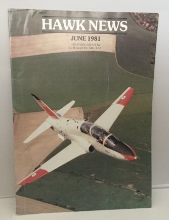 Image for Hawk News June 1981 34th Paris Air Show (Le Borget 4th - 14th June)