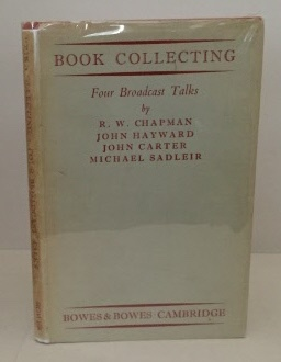 Image for Book Collecting Four Broadcast Talks