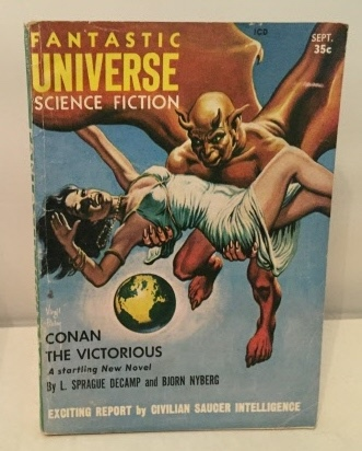 Image for Conan The Victorious (found In Fantastic Universe Science Fiction) September1957