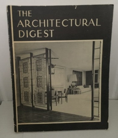 Image for Architectural Digest Volume XVI, Number 4 (c1955)