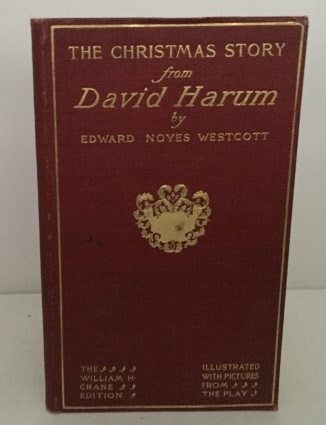 Image for The Christmas Story From David Harum  (Wm. H. Crane Edition)