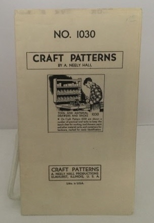 Image for Craft Patterns (no. 1030)  Hardware Cabinet